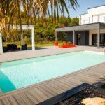 Terrasse composite tour de piscine