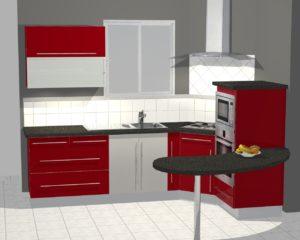 conception 3D cuisine